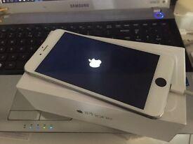 apple iphone 6+ plus white black silver ee t mobile virgin orange can unlock any sim