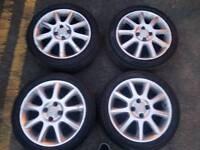 "Vauxhaull Corsa c alloys 4x100 16"""