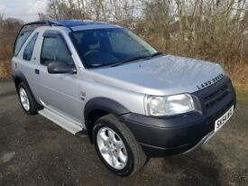 L/Rover Freelander TD4 *4x4*12 MONTHS MOT*F.S.H*Removable Roof*Leather*Towbar**Stunning Example