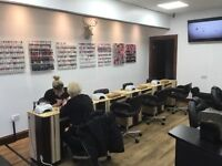 Nail technician and beautician wanted ( Full time )