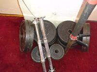 Fitness Weights - 90kg ( 70kg + 20kg free)