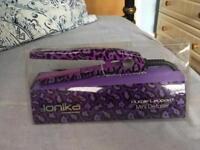 Ionika mini straighteners (purple animal print)