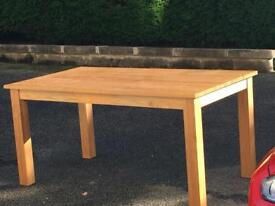 Sold waiting collection Lovely Oak dining table