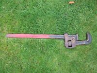 OLD HEAVY DUTY WRENCH/SPANNER