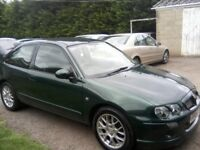 MG ZR 1-4 3-DOOR 2004. 73,000 MILES LAST FULL SERVICE AT 70,000 MILES. 12 MONTHS MOT WITH NO ADVISES