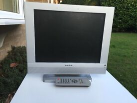 TV 15 inch with remote alba