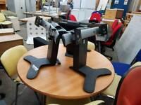 ergotron muti monitor stands priced each