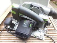 Festool HK55 circular saw, systainer, guide rail FS1400/2