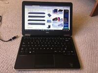 Deel e7240 Ultra fast laptop 256gb ssd 8gb ram latitude