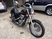 Totally mint Honda Shadow VT600C Cruiser only 6000 miles credit cards accepted ,trade in considered.