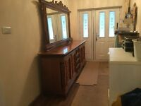 Italian dining room dresser (solid wood)