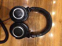 Audio Technica ATH-m50 professional headphones