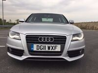 2011 AUDI A4 1.8 TFSI S Line WITH FULL AUDI HISTORY+2 OWNERS FROM NEW