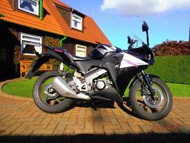 Motorcycle HONDA CBR 125