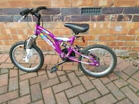 Childrens bike, suitable age 5- 8years