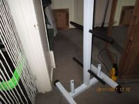 Heavy Duty Weight and Barbell Rack