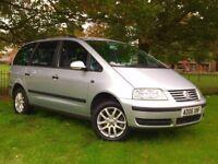 2006 VW SHARAN 1.9 TDI ** AUTOMATIC ** NEW MOT ( NO ADVISORY )** FULL SERVICE HISTROY