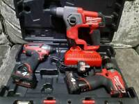 milwaukee m12 impact combi and sds kit
