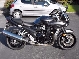 2011 Suzuki GSF 1250 Bandit very low miles PX any bike and delivery possible