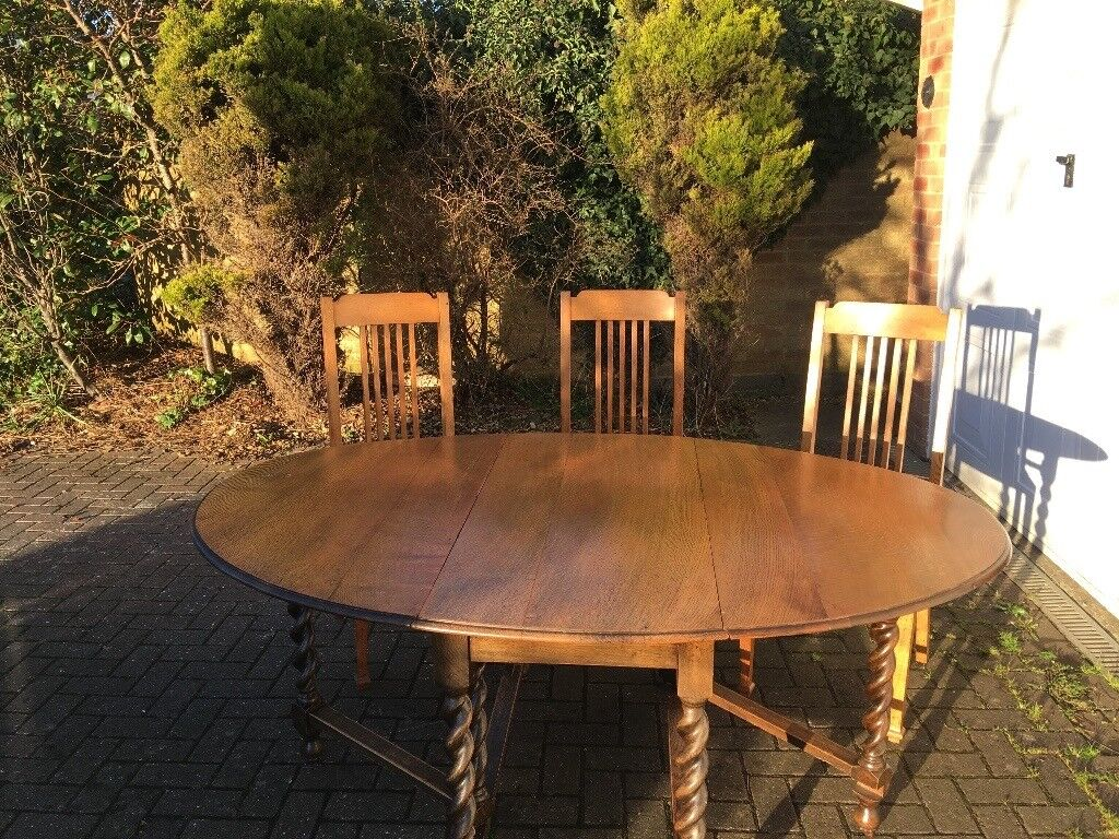 Oval Dining Room Table For Sale