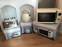Kettle, Toaster and microwave (great condition)