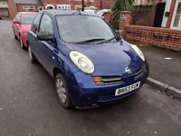 Nissan Micra Spares or Repairs MOT until August 2018