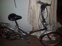 Everest Folding Bike ( used)