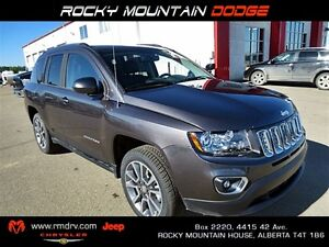 2015 Jeep Compass LIMITED 4X4 HEATED LEATHER