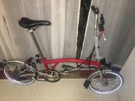 2017 M3L Brompton bike