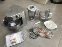 Kenwood prospero stand mixer with all attachments