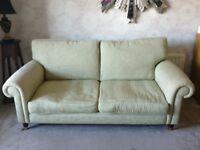 green Laura Ashley sofa