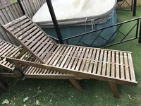 Table ,4 chairs ,2 loungers