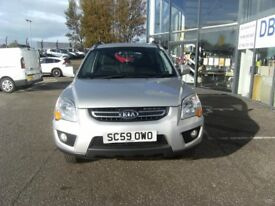 SERVICE HISTORY! 2010 59 KIA SPORTAGE 2.0 XE 5D 140 BHP **** GUARANTEED FINANCE **** PART EX WELCOME