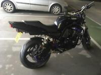 Fzs 600 streetfighter/wheely bike (project)