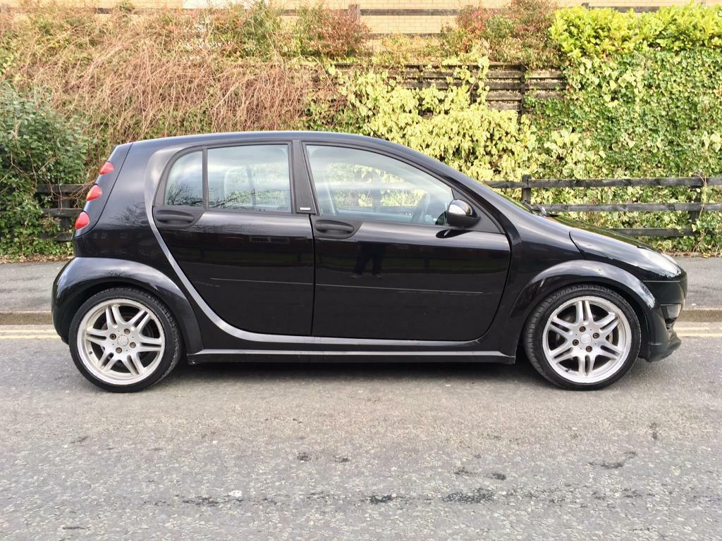 2006 smart forfour brabus 1 5 180bhp low miles full service history rare car in hyde. Black Bedroom Furniture Sets. Home Design Ideas