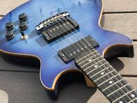 Gordon Smith Guitar - GS Deluxe Heritage - 2017 - Blue Burst - 2x GS Humbuckers