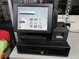 EPOS TILL SYSTEM TOUCH SCREEN COMPLETE FOR CAFE, RESTAURANT, RETAIL SHOP