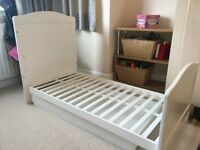 White Childrens Cot Bed
