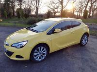 2014 Vauxhall Astra 2.0 L TDI SRI GTC Auto Yellow