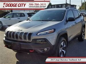 2017 Jeep Cherokee Trailhawk Plus   4x4 - Leather, Remote Start