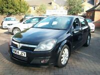 Vauxhall Astra 1.8 i 16v SRi 5dr 2004 (04 reg), Hatchback, BLACK, 5 DOOR, FULL MOT, BARGAIN
