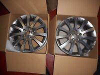"Renault captur 17"" alloy wheel rims."