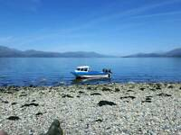 17ft fast fisher dory orkney boat