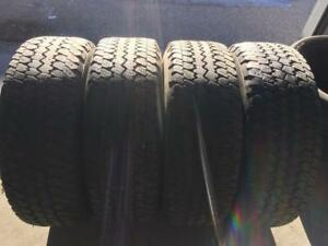 4 Goodyear Wrangler A/TS- 265/70/17- 50-60%- $100 for ALL 4