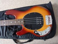 Sterling by Music Man Ray 34 Bass Guitar LEFT HANDED