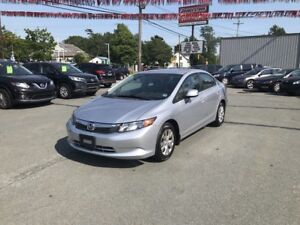 2012 Honda Civic LX ($109 bi-weekly, $0 down, OAC, taxes incl.)