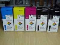 HP Color LaserJet 5/5M Full Set of 4 Genuine New Original Toners Plus Extra Black toner