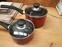 Tefal Set of 2 saucepans with lid