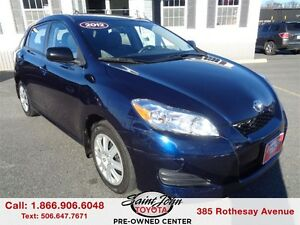 2012 Toyota Matrix $124.69 BI WEEKLY!!!