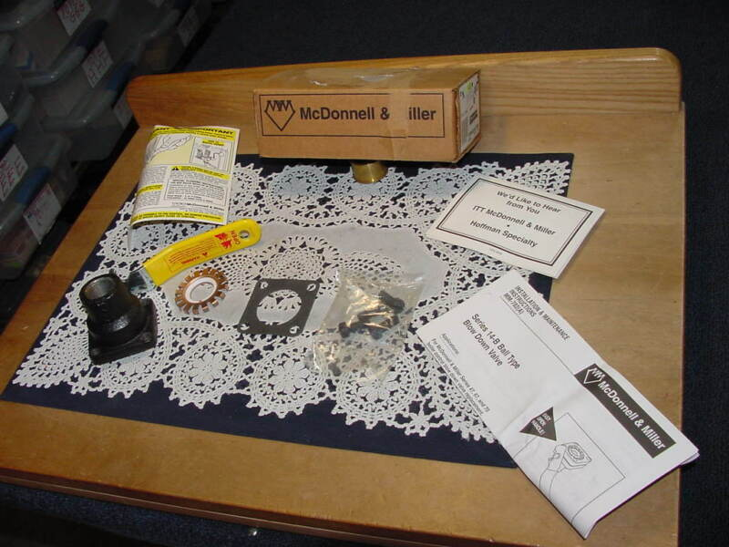ITT McDonnell & Miller 14-B Ball Valve Blow Down, P/N 310447, NEW IN BOX!
